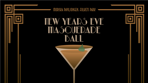 Bild för New Years Eve Masquerade ball, 2016-12-31, Moriska Paviljongen
