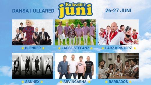 Bild för EN KVÄLL I JUNI 2020 - Dansa i Ullared, 2020-06-26, Hedevi IP