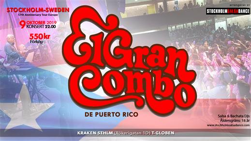 Bild för El Gran Combo de Puerto Rico, 2019-10-09, Kraken