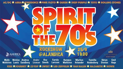 Bild för Spirit of the 70´s, 2021-09-25, Stora Salen
