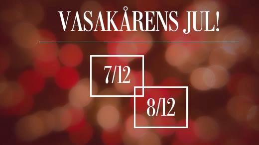 Bild för Vasakårens Jul - Lördag 8/12, 2018-12-08, Frälsningsarmén, Vasakåren