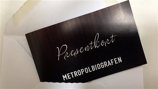 Bild för Presentkort, 2014-01-01, Metropolbiografen