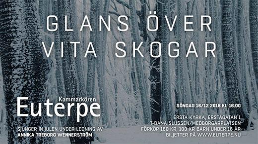 Bild för Glans över vita skogar, 2018-12-16, Ersta Kyrka