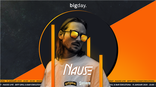 Bild för Bigday - Nause - Eskilstuna (Live), 2020-01-15, BIFF, Eskilstuna