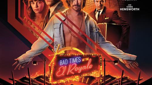 Bild för Bad Times at the EL Royale, 2018-10-29, Biosalongen Folkets Hus