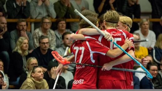 Bild för J-allsvenskan HJ18: FBC Lerum vs. Hovslätts IK, 2020-03-08, Rydsbergshallen