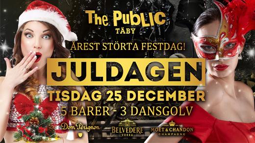 Bild för Juldagen 25 December - The Public Täby, 2018-12-25, The Public Club Täby
