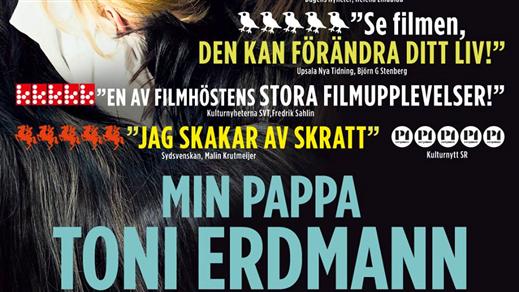 Bild för Min pappa Toni Erdmann (Sal3 15år Kl15:15 2h42m), 2016-11-12, Saga Salong 3