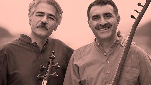 Bild för Kayhan Kalhor & Erdal Erzincan, 2018-10-19, UKK - Restaurangen/Sal D