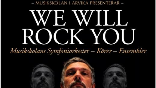 Bild för We will rock you 14.00, 2018-11-25, Stora Konsertsalen Musikhögskolan Ingesund