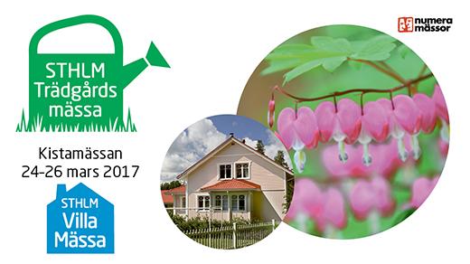 Bild för STHLM Trädgårdsmässa & STHLM Villamässa, 2017-03-24, Kistamässan
