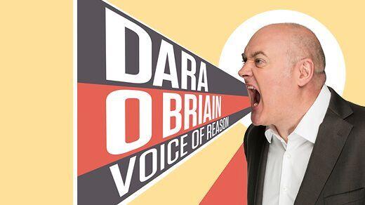 Bild för Voice Of Reason-Dara o Briain, 2019-05-16, China Teatern