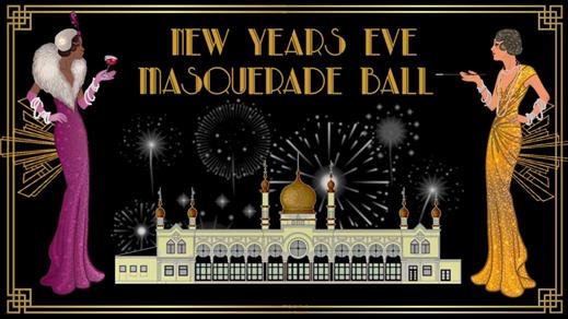 Bild för New Years Eve Masquerade Ball 2018, 2018-12-31, Moriska Paviljongen