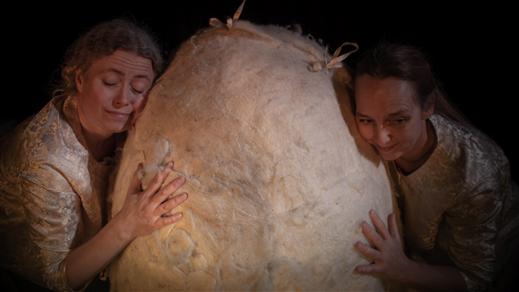 Bild för Barnsöndag på Tonsalen - Sagan om Pan Gu, 2020-10-18, Teater Sláva, Tonsalen