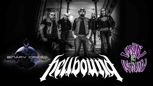 Bild för Släppfest Hellbound, 2021-04-10, Vävenscenen