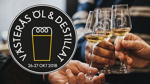Bild för Västerås Öl & Destillat 2018, 2018-10-26, Aros Congress Center