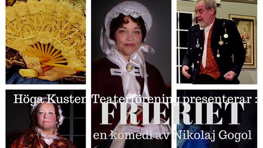 Bild för Frieriet av Nikolaj Gogol, 2018-03-17, Konserteatern