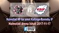 Halmstad HF vs. Kallinge-Ronneby IF