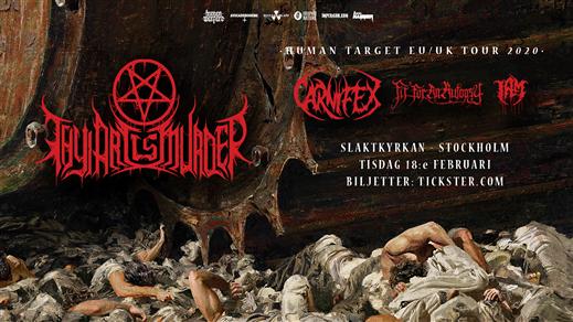 Bild för Thy Art Is Murder / Carnifex + support, 2020-02-18, Slaktkyrkan