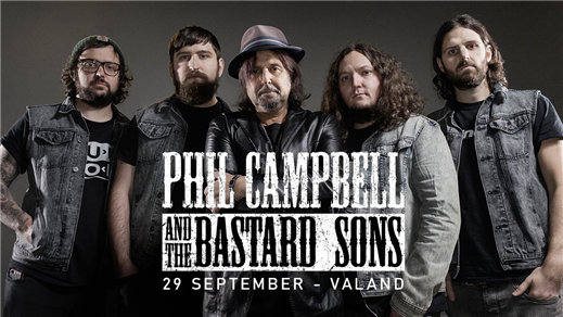 Bild för Phil Campbell and The Bastard Sons, 2021-09-28, Valand