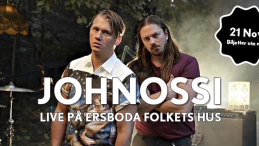 Bild för Johnossi Live på Ersboda Folkets Hus, 2021-11-05, Ersboda Folkets Hus
