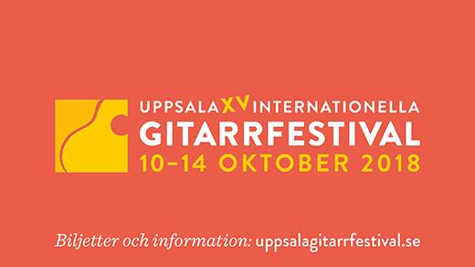Bild för Uppsala Internationella Gitarrfestival 2018, 2018-10-10, Uppsala Konsert & Kongress - hela huset