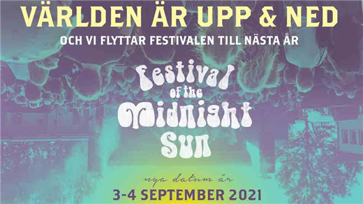 Bild för Festival of the Midnight Sun 50, 2021-09-03, Skylten