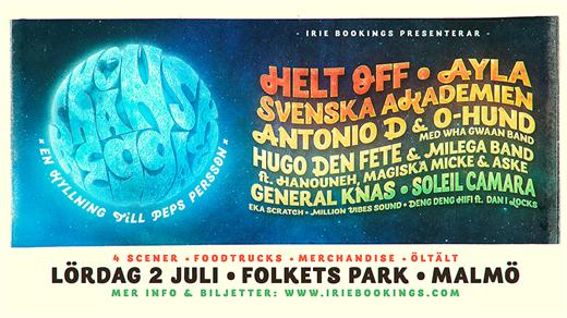 Bild för Skånsk Reggae - Festival 2022, 2022-07-02, Malmö Folkets Park