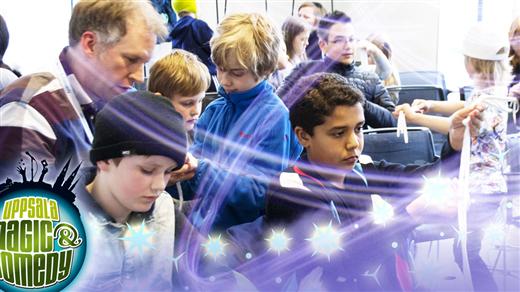 Bild för Uppsala Magic & Comedy: Magikurs för barn 11.00, 2021-04-10, Konferensrum K4