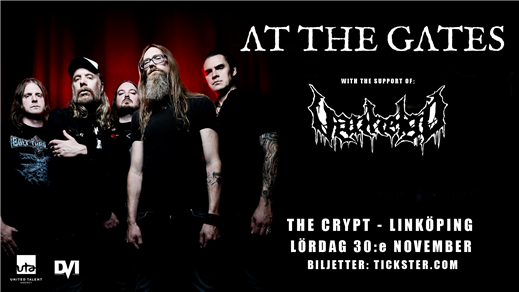 Bild för At The Gates / Vanhelgd - The Crypt, Linköping, 2019-11-30, The Crypt