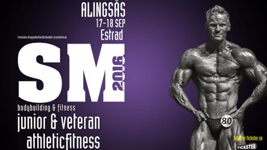 Bild för SM Junior & Veteran och SM i Athletic Fitness, 2016-09-17, Estrad Alingsås