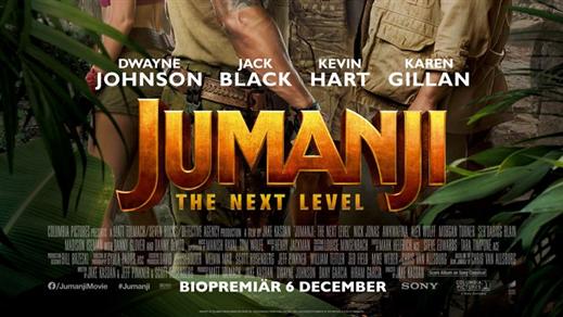 Bild för Jumanji: The Next Level, 2019-12-25, Essegården
