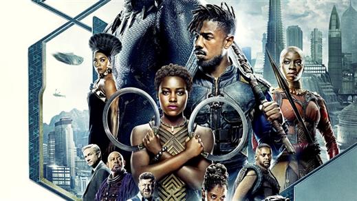 Bild för Bio: Black Panther, 2018-02-18, Kulturhuset Finspång, Stora Salongen