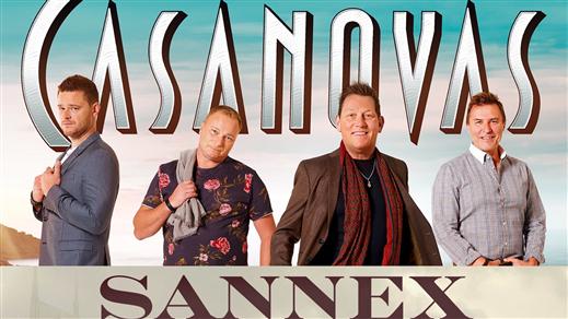 Bild för CASANOVAS + SANNEX, 2019-04-21, Huskvarna Folkets Park