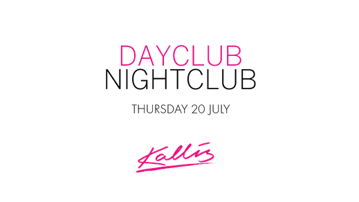 Bild för Dayclub/Nightclub Thursday 20 July (Otto Knows), 2017-07-20, Kallis