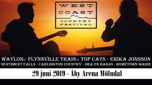 Bild för West Coast Country Festival, 2019-06-29, Åby Arena