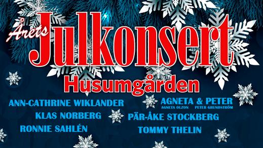 Bild för Julkonsert, 2019-12-08, Husumgården