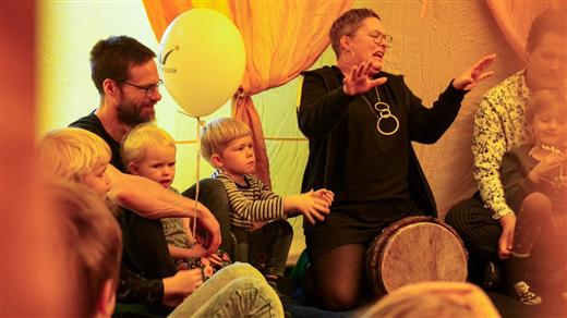 Bild för Barnkulturdag i Sara, 2021-10-02, Sara Kulturhus Scen 3