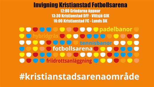 Bild för Seriepremiär Kristianstad, 2018-04-14, Kristianstad Fotbollsarena