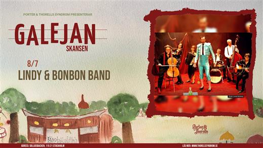 Bild för Lindy & Bon Bon Band, 2021-07-08, Galejan, Skansen