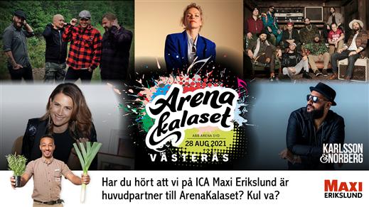 Bild för ArenaKalaset Västerås 2021, 2021-08-28, ABB Arena Syd, Västerås