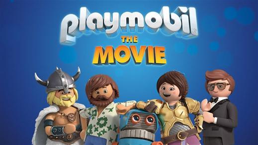 Bild för Playmobil: The Movie (Sv. tal), 2019-09-29, Kulturhuset Finspång, Stora Salongen