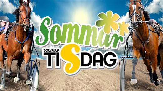 Bild för Solvallatisdag sommar 2018-06-26, 2018-06-26, Solvalla