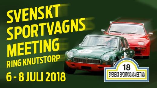 Bild för Svenskt Sportvagnsmeeting, 2018-07-06, Ring Knutstorp