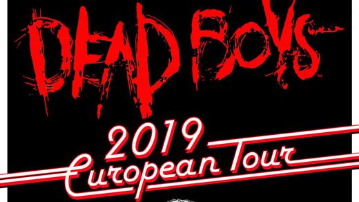 Bild för Dead Boys + Troublemakers + GLO, 2019-06-23, Club Slacker - Pustervik
