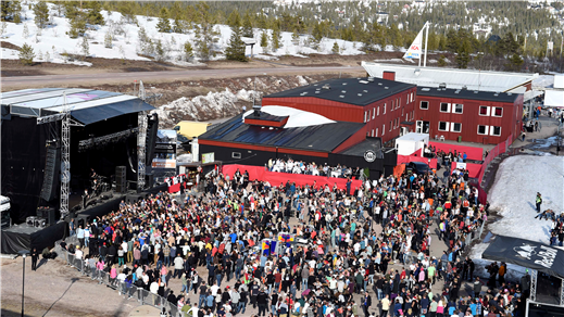Bild för Ski & Rock season grand finale, 2017-04-22, Sälens Högfjällshotell