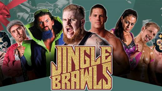 Bild för Jingle Brawls/Wrestling!, 2018-12-01, Moriska Paviljongen