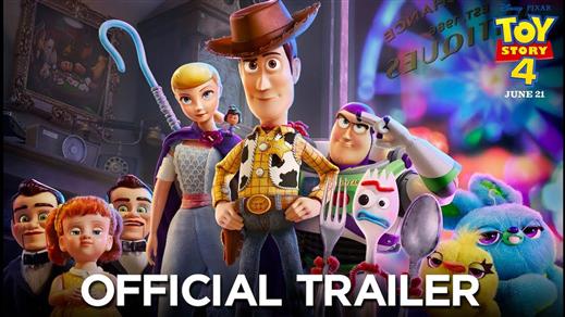 Bild för Toy Story 4 2D (Sv. tal), 2019-08-30, Biosalongen Folkets Hus