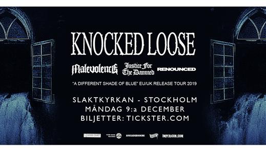 Bild för Knocked Loose / Malevolence + support, 2019-12-09, Slaktkyrkan