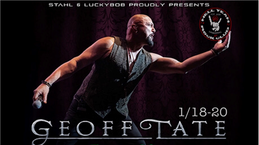 Bild för Geoff Tate ( Empire 30th Anniversary Tour )+ TBA, 2020-01-18, PALATSET